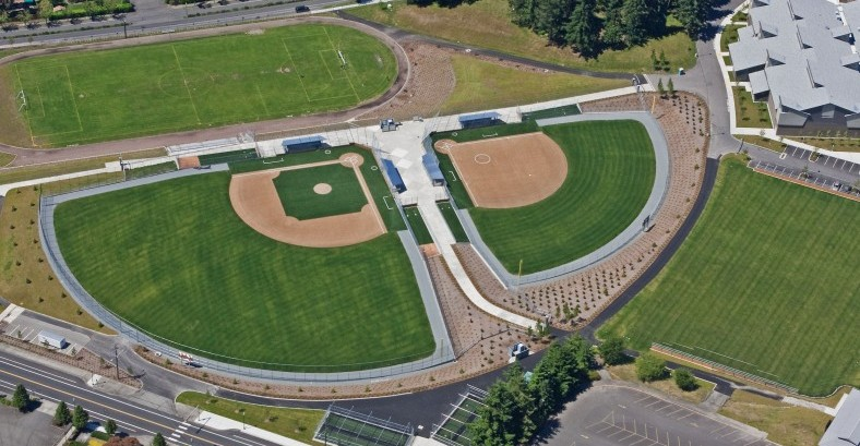 Curtis Jr HS Aerial