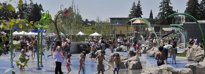 Grand Opening for SERA Sprayground and Playground