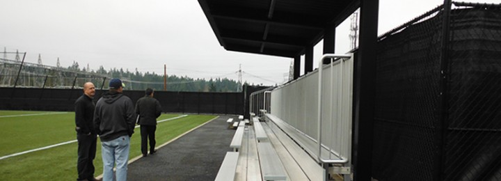New Bleachers for Peninsula College