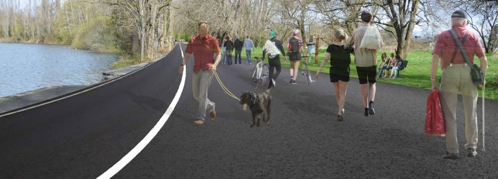 Construction Begins on Waughop Lake Trail in Lakewood