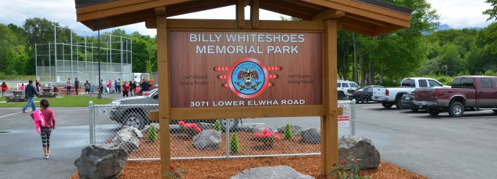 Billy Whiteshoes Park Completed
