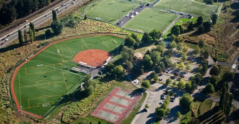 Marymoor Sports Complex Aerial