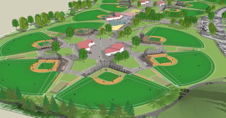 Gillette Little League Fields 1